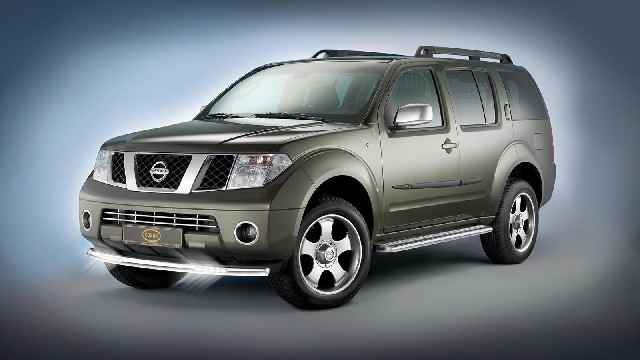 Cityguard mit LED Tagfahrlicht 60 mm für Nissan Pathfinder Pick Up Navara D40
