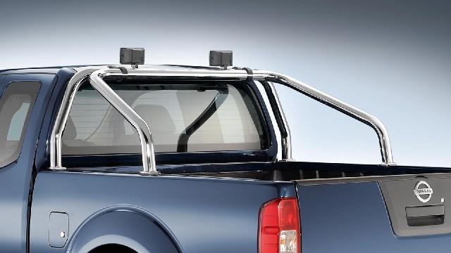 Überrollbügel Edelstahl  60 mm für Nissan Navara D23 & D40