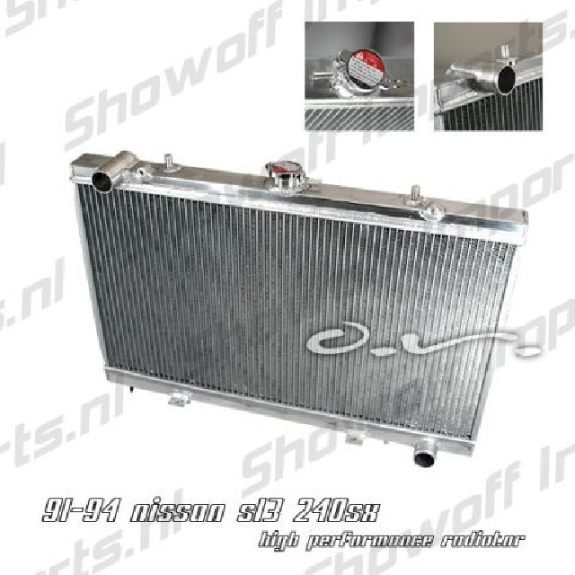 Nissan S13 89-94 SR20DET Aluminium SIX-Performance Radiator