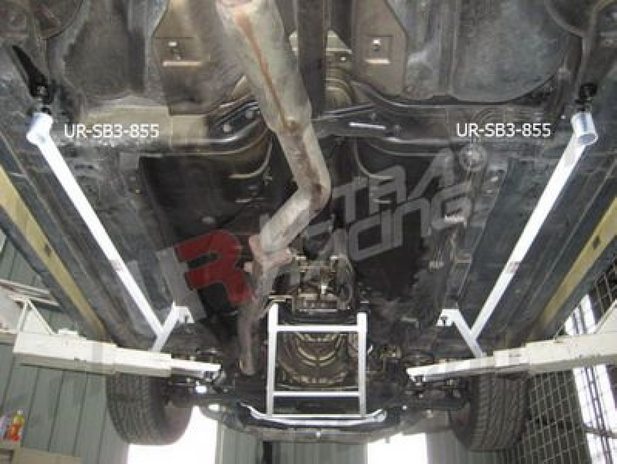 Nissan S14 95-99 UltraRacing 2x 3-Point Side/Floor Bars