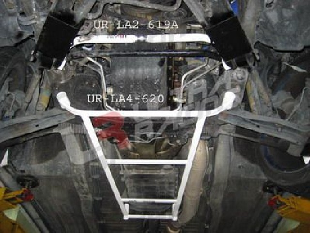 Nissan Skyline R34 GTT UltraRacing 4-Point Front Lower Brace