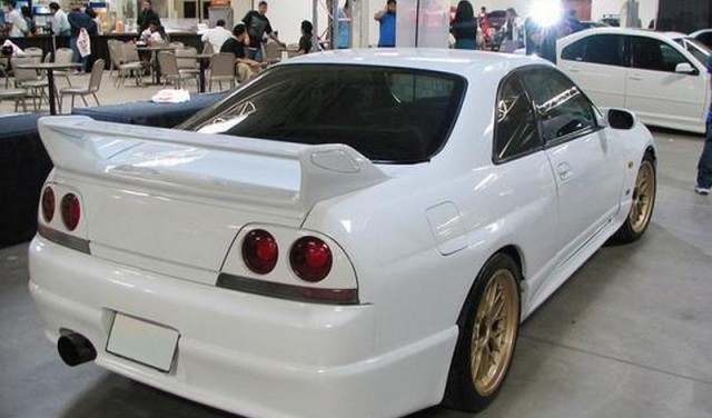 HECKSPOILER GTR REPLICA NISSAN R33 GTS & GTR