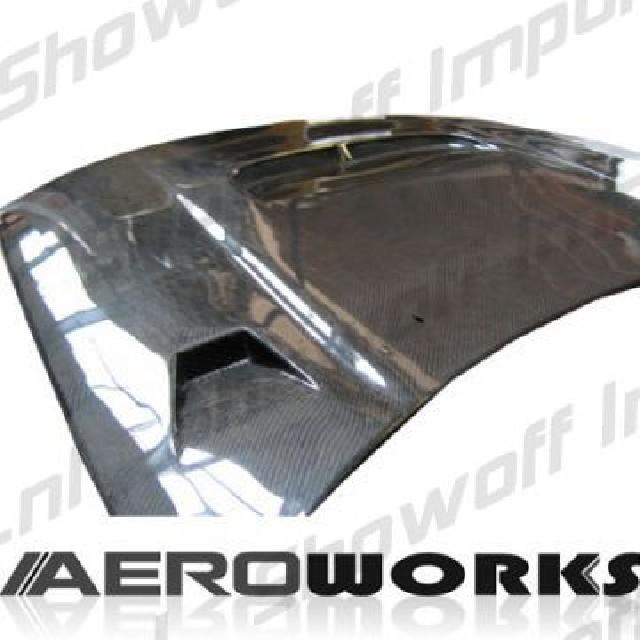 Nissan Skyline R33 GT-R 95+ Aeroworks Carbon JS Hood