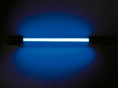 NEON Tube 30 cm blau