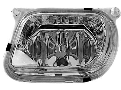 Nebelscheinwerfer Mercedes E-Klasse W210 95-98 chrome