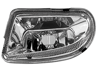 Nebelscheinwerfer Mercedes Benz W210 99-01 E-Kl. chrome