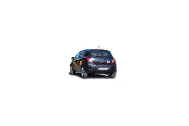 FOX Opel Corsa D  Endschalldämpfer Ausgang rechts/links - 1x90 Typ 13 rechts/links