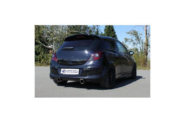 FOX Opel Corsa D GSI  Endschalldämpfer quer Ausgang rechts/links - 1x100 Typ 16 rechts/links