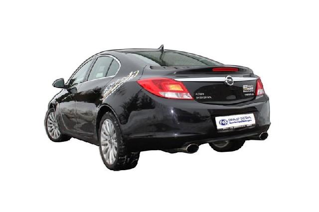 FOX Opel Insignia 4x4  Endschalldämpfer rechts/links - 140x90 Typ 33 rechts/links