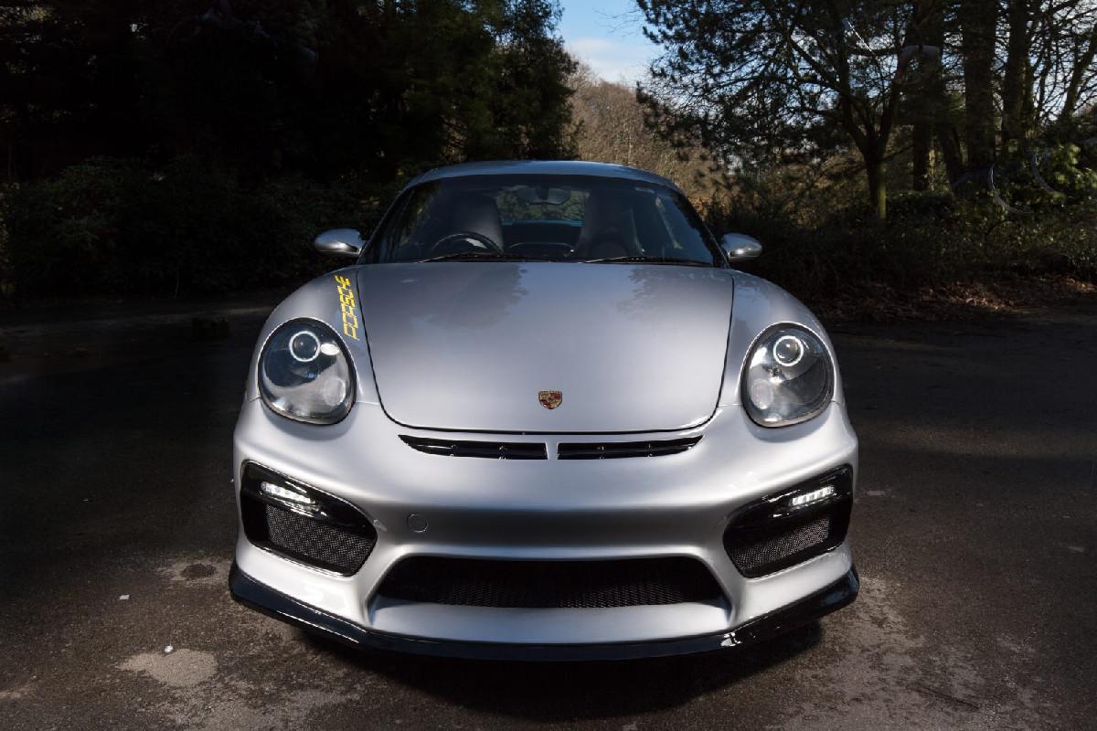 Porsche Boxster Frontstoßstange Baujahr 04-12
