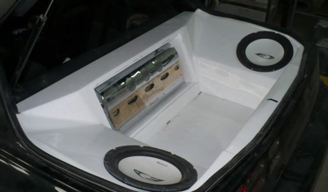 BASS BOX NISSAN 300ZX 2+2 SITZER