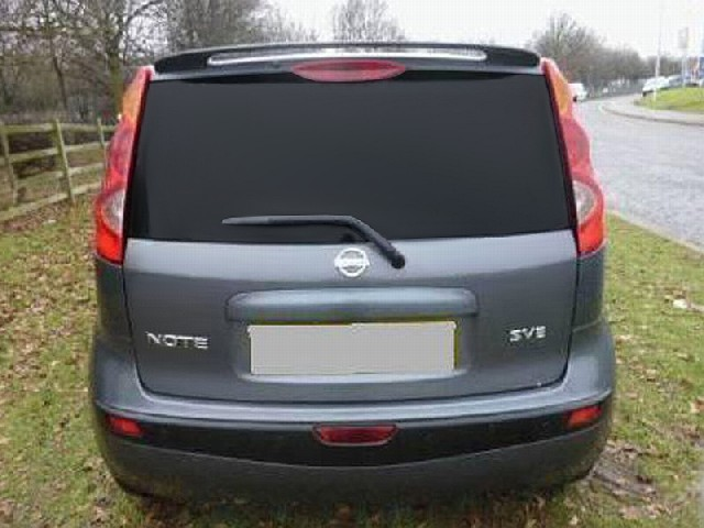 DACHSPOILER NISSAN NOTE