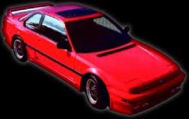 Heckspoiler Honda Prelude 87-92 mit Bremsleuchte