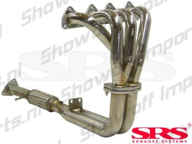 Honda Prelude 92-96 2.2 SRS Stainless Steel 4-2-1 Header