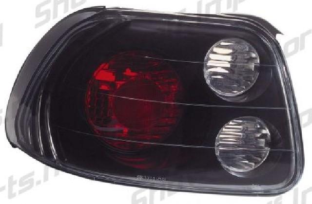 Honda CRX/DelSol 92-97 Black G3 Taillights