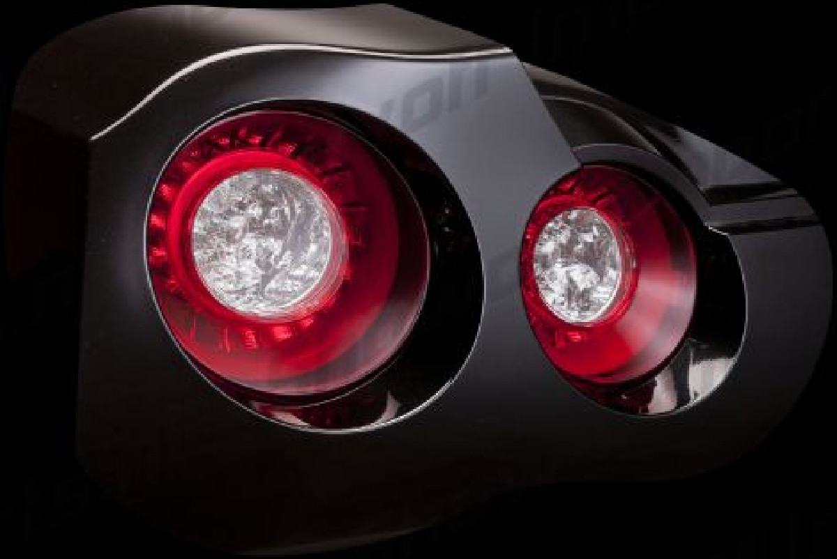 Nissan GTR R35 08+ LED Jewel Taillights REVO Red Valenti