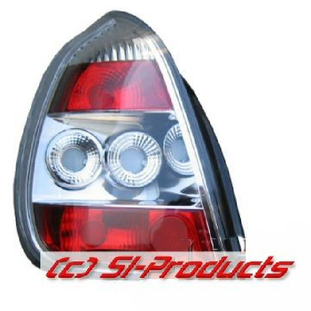 Toyota Corolla E11 97-00 LXS-Taillights Chrome