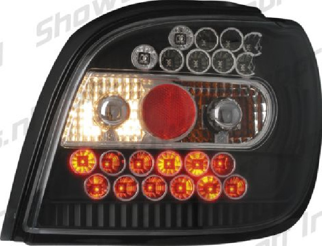 Toyota Yaris -02 Black LED Taillights
