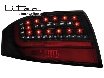 LITEC LED Rückleuchten Audi TT 8N3/8N9 98-05 black