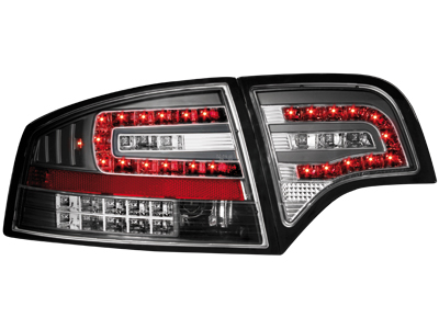 LED Rückleuchten Audi A4 B7 Lim.04-08 LED BLINKER black