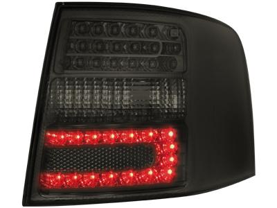 LED Rückleuchten Audi A6 4B Avant 12.97-01.05 smoke