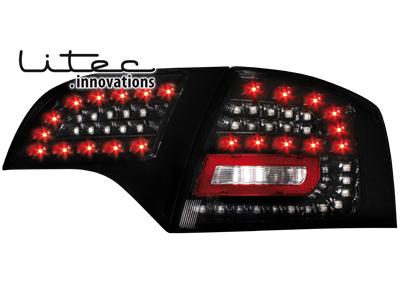 LITEC LED Rückleuchten Audi A4 B7 Avant 04-08 black