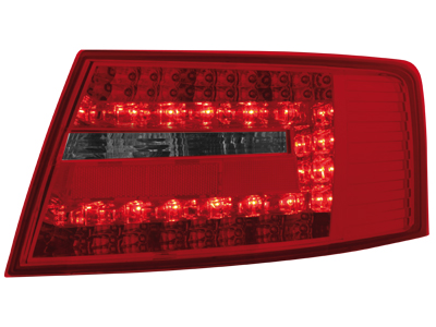 LED Rückleuchten Audi A6 4F Limousine 04-08 red/smoke