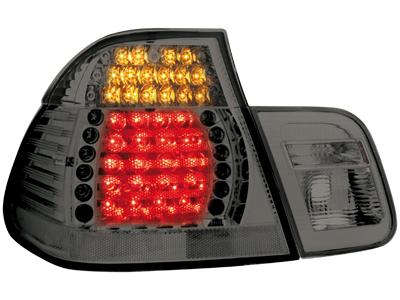 LED Rückleuchten BMW 3er E46 Lim. 02-04 smoke 4-teilig