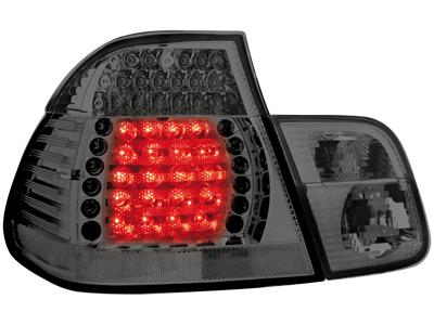 LED Rückleuchten BMW 3er E46 Lim. 98-01 smoke 4-teilig!