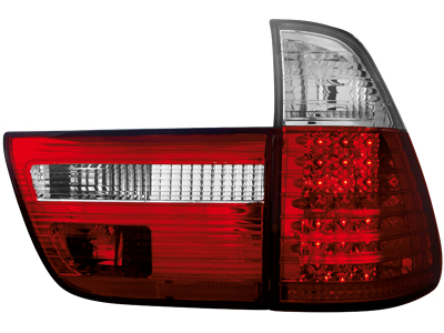 LED Rückleuchten BMW X5 E53 00-02 red/crystal