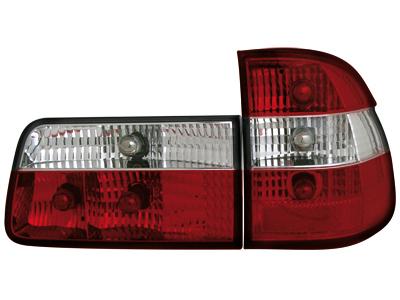 Rückleuchten BMW 5er E39 Touring 97-04 red/crystal