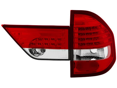 LED Rückleuchten BMW X3 E83 04-06 red/crystal