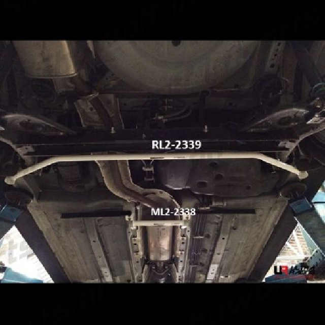 Nissan Juke 10+ UltraRacing 2-Point Rear Lower Bar 2339