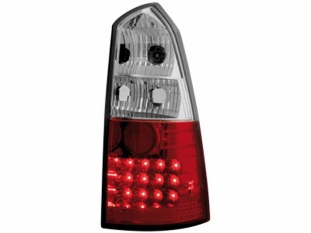 LED Rückleuchten Ford Focus mk1 Turnier 99-05 red/crystal