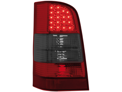 LED Rückleuchten Mercedes Vito W638 96-03 red/smoke
