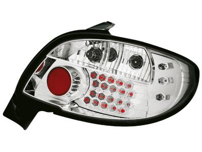 LED Rückleuchten Peugeot 206 98-09 crystal