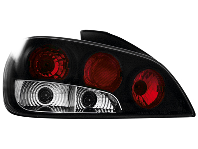 Rückleuchten Peugeot 406 96-98 black