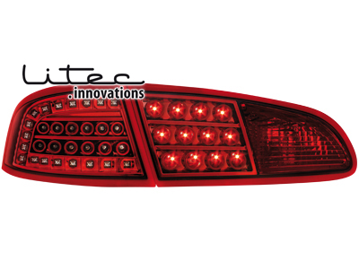 LITEC LED Rückleuchten Seat Ibiza 6L 02.02-08 red