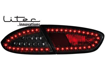 LITEC LED Rückleuchten Seat Leon 09+ 1P1 black