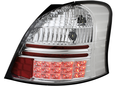 LED Rückleuchten Toyota Yaris 05+ crystal