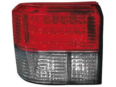 LED Rückleuchten VW T4 90-03 crystal/red