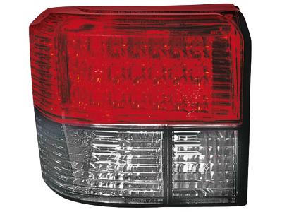LED Rückleuchten VW T4 90-03 crystal/red