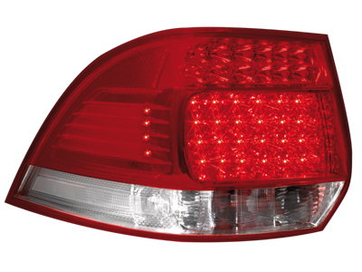 LED Rückleuchten VW Golf Variant V 03-07/ VI 08+ red/cryst