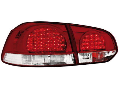 LED Rückleuchten VW Golf VI red/crystal