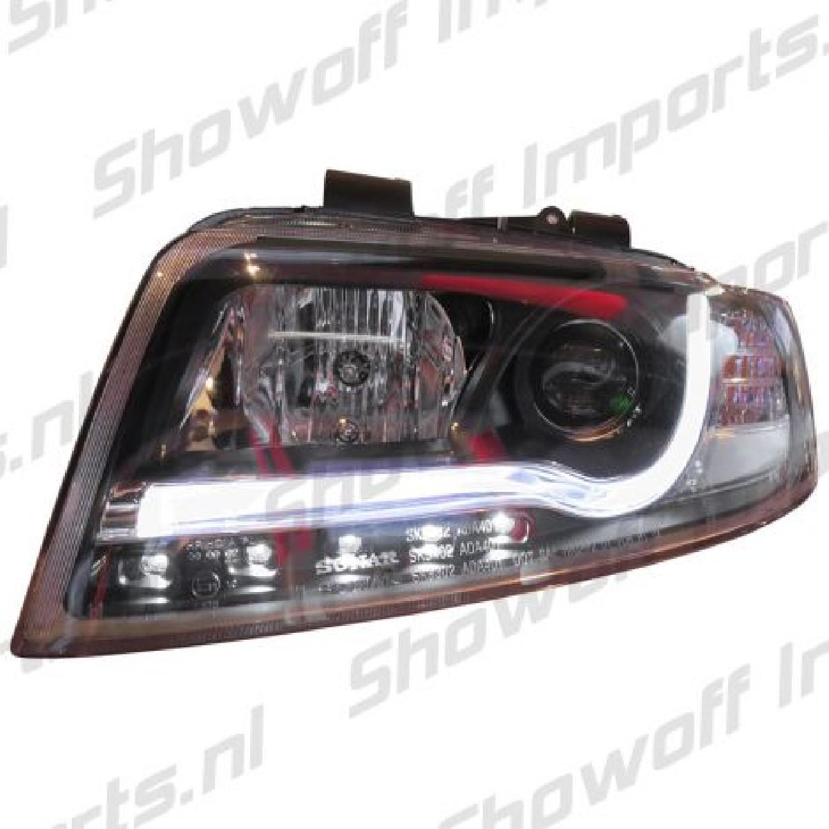 Audi A4 8E 01-04 Headlights Set DRL Clear