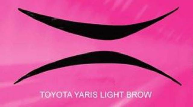 Toyota Yaris 99-03 ABS Eyebrows