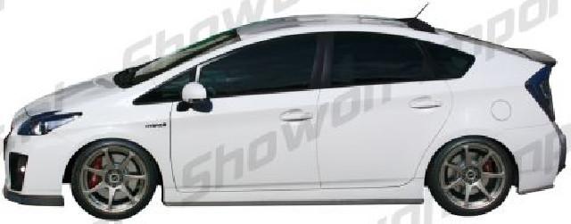 Toyota Prius 3 Hybrid 09+ Chargespeed Bottomline Sideskirts