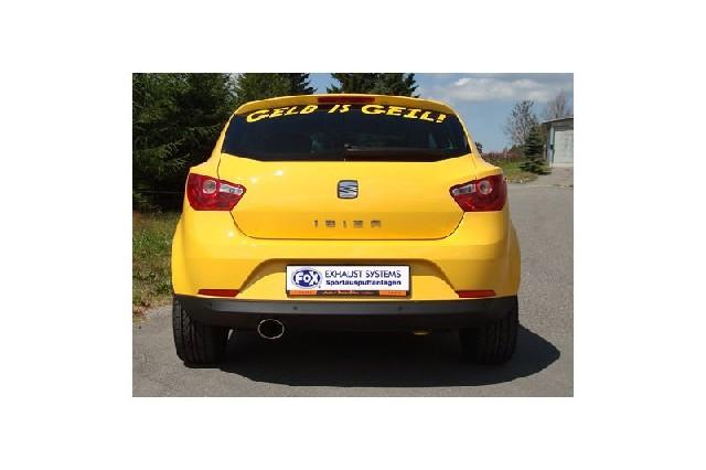 FOX Seat Ibiza 6J  Endschalldämpfer - 115x85 Typ 32