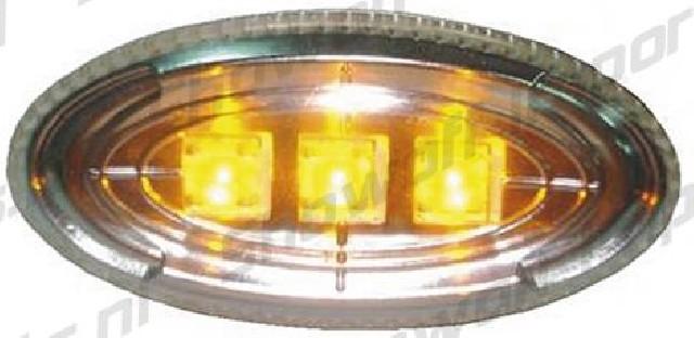Mazda 5 LED Seitenmarkierungen Clear / Crystal V1