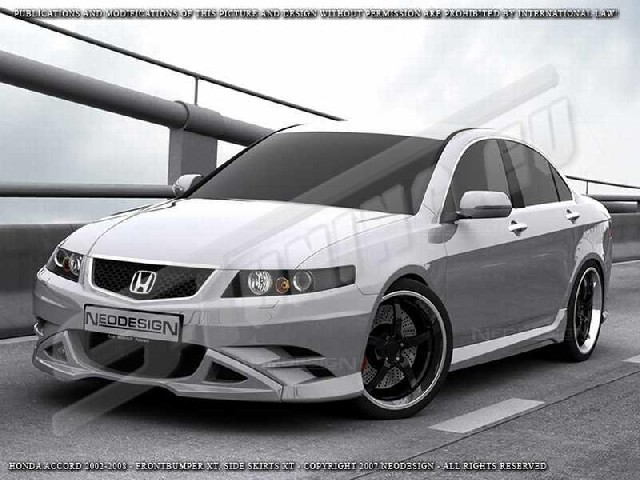 SIDE SKIRTS HONDA ACCORD XT Limo 03-08